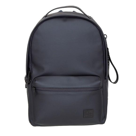 Front Pocket Backpack With USB Port, Navy