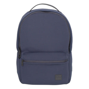 Front Pocket Backpack With USB Port, Blue
