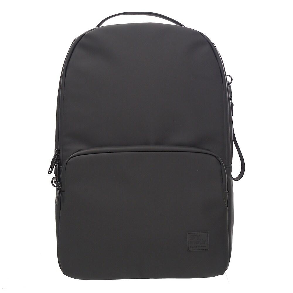 Front Pocket Backpack With USB Port, Black