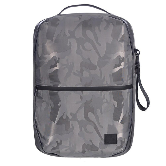 Backpack With Hidden Compartment And USB Port, Grey