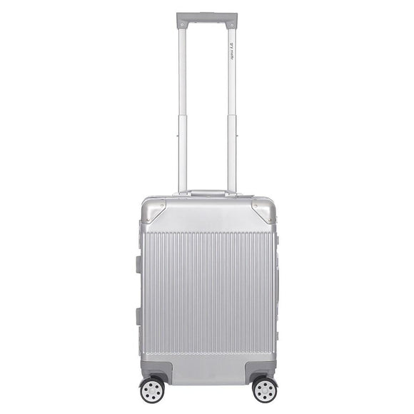 Carry-On Luggage With USB Port And TSA Approved Locks, Silver