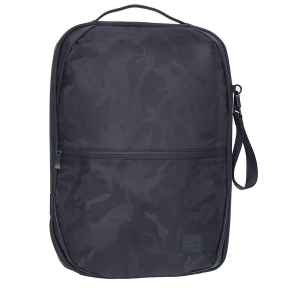 Backpack With Hidden Compartment And USB Port, Black