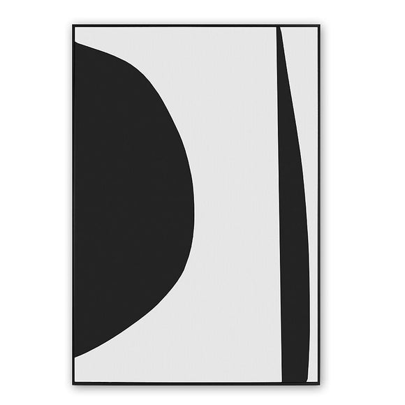 Wall Art, Minimal Black, 20.5