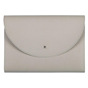 Medium Vegan Leather Padfolio, Putty