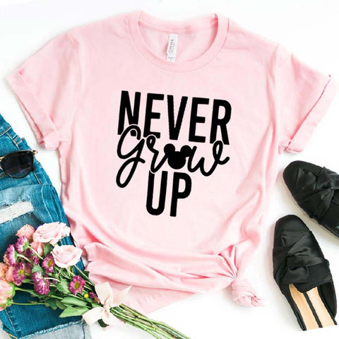 Never Grow Up Ladies TShirt