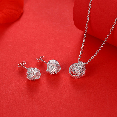 Cute Silver Plated Pendant