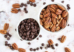Chocolate Drizzled Pecans (Lo-Carb)