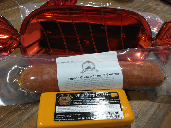 Summer Sausage & Cheese Gift Tray
