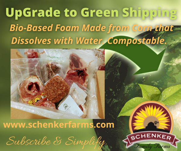 UpGrade to Green Cell Shipping