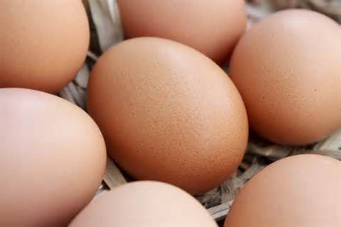 Fresh, Free-Range Brown Eggs