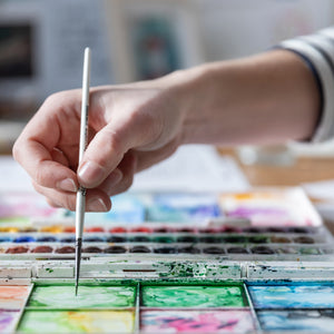 Watercolour for beginners - 4 August 2020 - a digital creative class