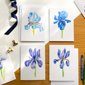 Iris Card Collection No.1-No.4