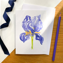 Load image into Gallery viewer, Iris No.7 card