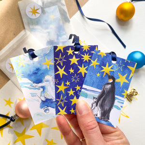 Look at the Stars - gift tags