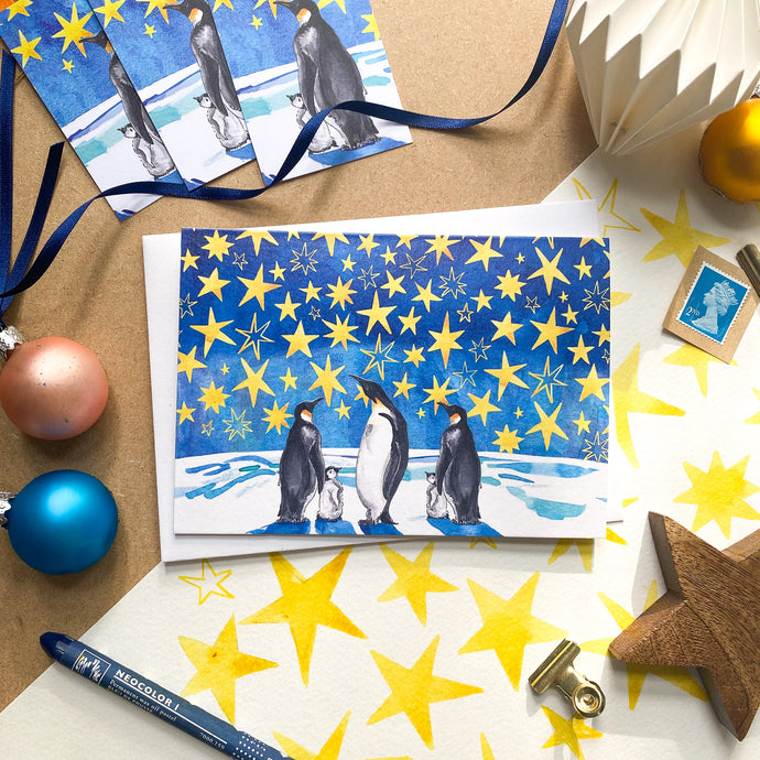 Look at the Stars – Christmas Card