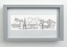 Load image into Gallery viewer, Edinburgh Cityscape giclée print