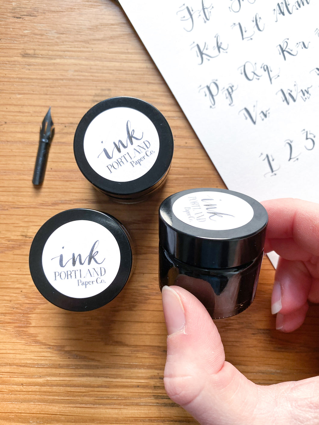 Black Calligraphy Ink