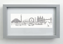 Load image into Gallery viewer, Cityscape print - London, Edinburgh, Paris, Rome, New York, San Francisco