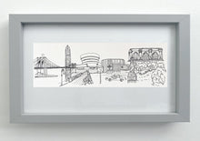 Load image into Gallery viewer, New York Cityscape giclée print