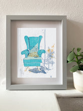 Load image into Gallery viewer, Armchair print - choose your chair
