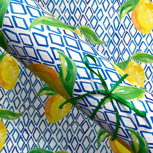 Diamond Lemon Wrap