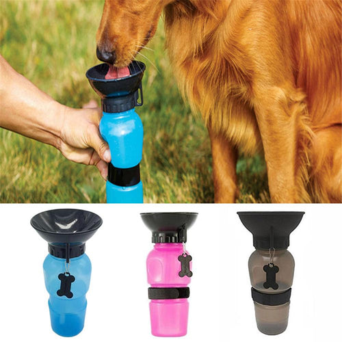 Portable Pet Water Feeder Outdoor Pet Kettle Supplies Dog Cat Accessories Anti-spill Out Design Water Cans Animal Daily Supplies