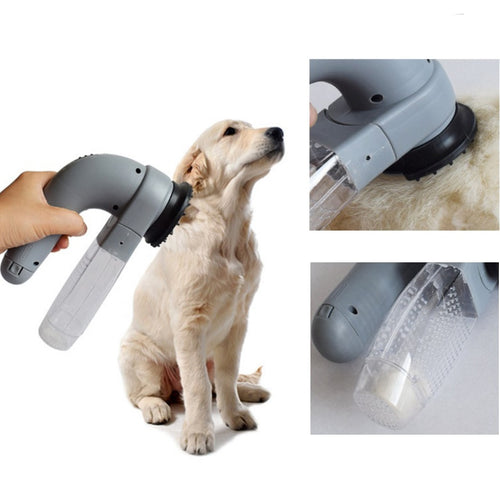 Electric pet sucker Pet Hair Vacuum Removal Fur Suction Grooming Device Pets Dog Portable Pets MassageCleaner For Dogs