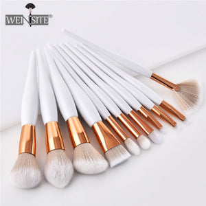 Women's Fashion Makeup Brush Soft Synthetic Head Foundation Eye Shadow Facial Makeup Brush Set Beauty Cosmetics Pincel Maquiagem