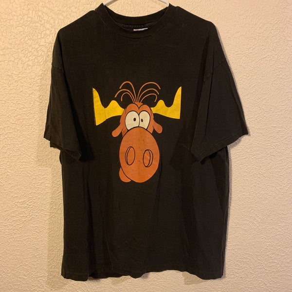 Vintage Bullwinkle Taco Bell T Shirt