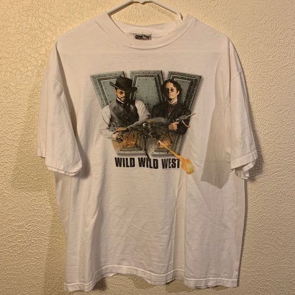 Vintage Wild Wild West Will Smith Movie T Shirt