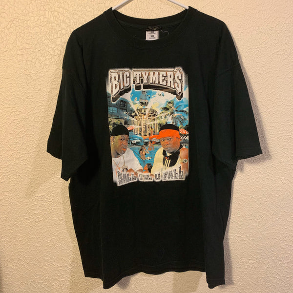 Early 2000's Big Tymers Ball Til U Fall Rap T Shirt