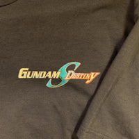 Early 2000's Gundam Destiny Navy Blue T Shirt