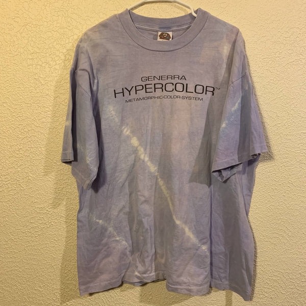 Vintage Generra Hypercolor Color Changing T Shirt