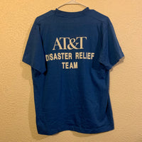 Vintage AT&T Disaster Relief Blue T Shirt