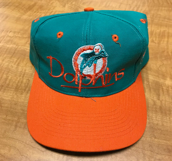fd243b0203686 Vintage Miami Dolphins Snapback Hat by The Game – Thrift-fil-A