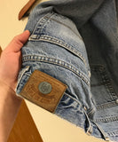 Vintage Tommy Hilfiger Crest Light Wash Denim Jeans Sz 34