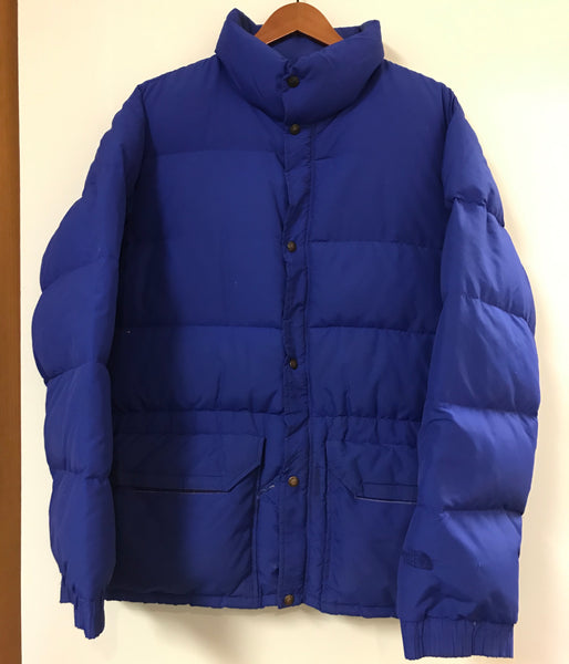 Vintage TNF The North Face Blue Down Filled Insulated Puffer Jacket