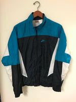 Vintage Teal Grey Tag Nike Windbreaker Jacket