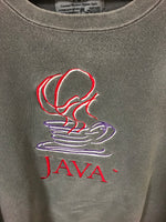 Vintage Java Computer Software Crewneck Sweatshirt