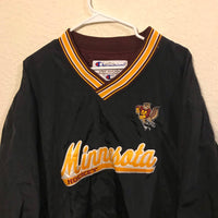 Vintage Minnesota Gophers Hockey Champion Nylon Pullover Jacket