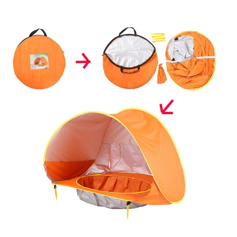 Waterproof UV Protecting Baby Beach Tent / Sun Shelter for Children