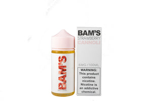 Bam's | Strawberry Cannoli | 100ML