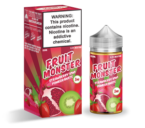 Fruit Monster | Strawberry Kiwi Pomegranate | 100ML