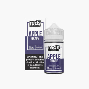 7Daze Reds | Grape | 60ML