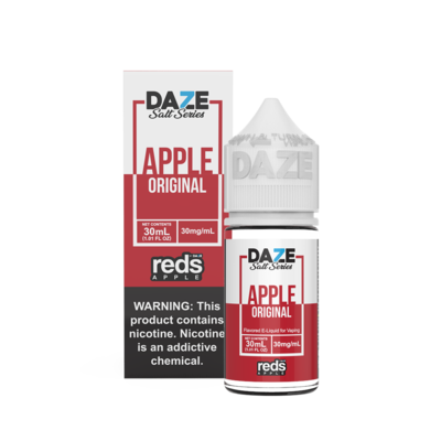 7Daze Reds Salt | Apple | 30ML