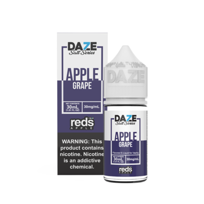 7Daze Reds Salt | Grape | 30ML