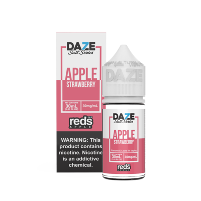 7Daze Reds Salt | Strawberry | 30ML