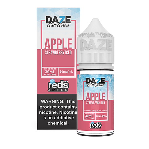 7Daze Reds ICE Salt | Strawberry | 30ML