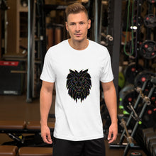 Load image into Gallery viewer, Short-Sleeve Unisex Lion T-Shirt