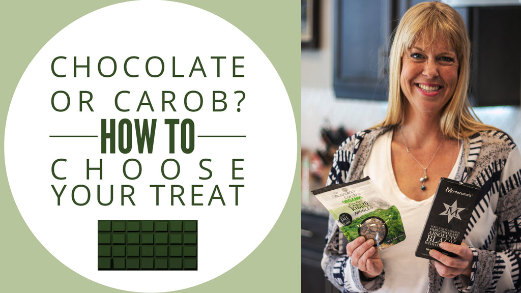 Chocolate or Carob? How to Choose Your Treat